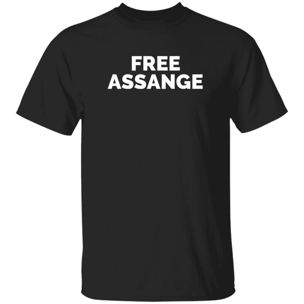 The Christian Whistleblower Free Assange Black Tee