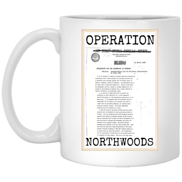 Operation Northwoods White Mug