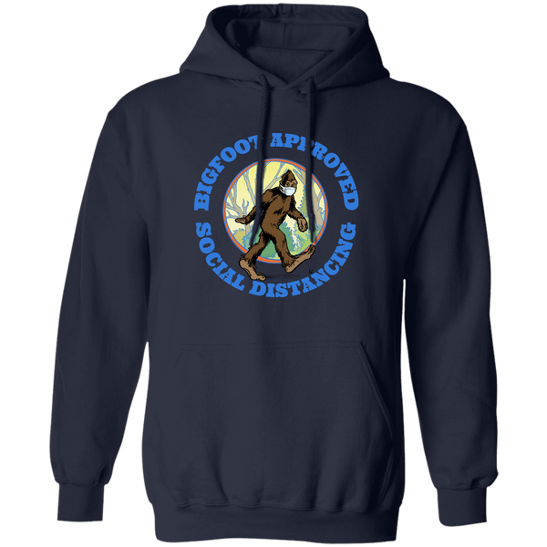Bigfoot Approved Social Distancing Hoodie