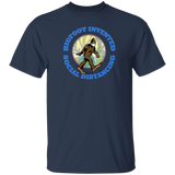 Bigfoot Invented Social Distancing Tee