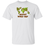 Bigfoot World Map Tee