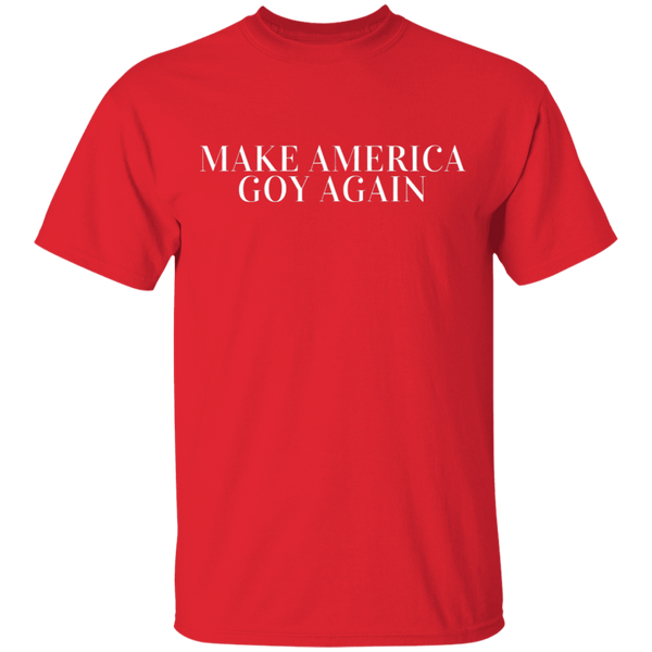 The Christian Whistleblower Make America Goy Again Tee