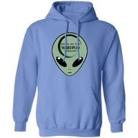 Bring On The Weird Little Green Alien Hoodie