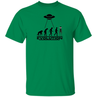 UFO CHRONICLES PODCAST Evolution Tee