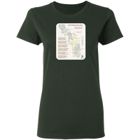 Forrest Fenn's Treasure Map Women's Tee