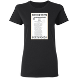 Operation Northwoods Women's Tee