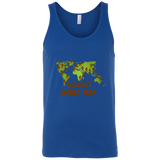 Bigfoot World Map Tank