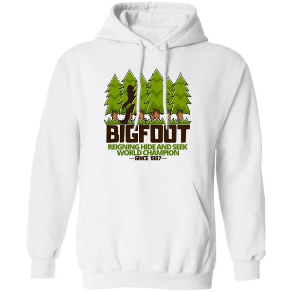 UFO CHRONICLES PODCAST Bigfoot Hide & Seek World Champion Hoodie