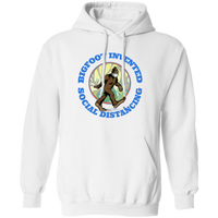 Bigfoot Invented Social Distancing Hoodie