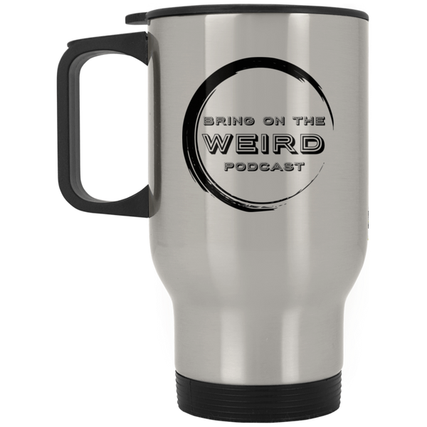 Bring On The Weird Logo Stainless Travel Mug