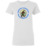 Bigfoot Approved Social Distancing Women's Tee