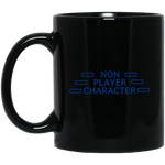 Non-Player Character Black Mug