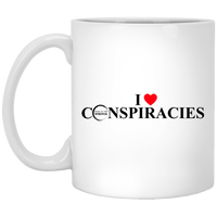 Bring On The Weird I (Heart) Conspiracies Mug