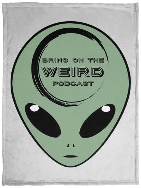 Bring On The Weird Little Green Alien Fleece Blanket - 30x40