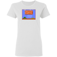 Simulation Earth Women's Tee