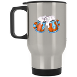 Bring On The Weird Cheers! Silver Stainless Travel Mug