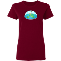Flat Earth Women's Tee