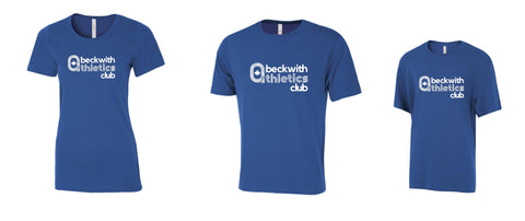 Beckwith Atletics Club Tshirt | Level 1 Custom Gear