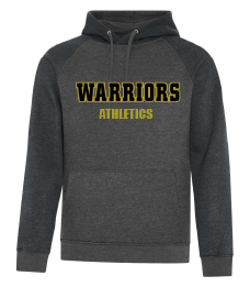 WARRIORS Two Toned Vintage Hoodie