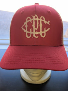 CPCC 125th Anniversary Club Heritage Logo Embroidered Hats
