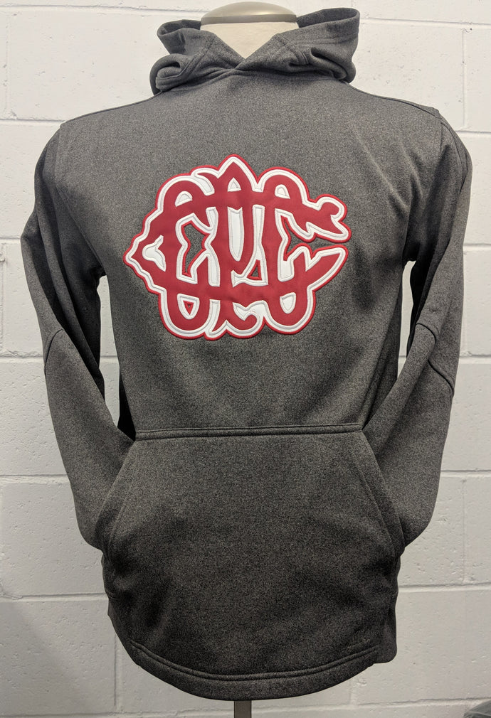 CPCC Retro Logo Embroidered FLEECE HOODED SWEATSHIRT