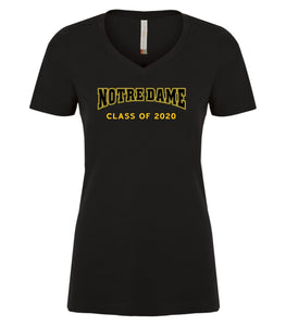Notre Dame Class of 2020 tshirt