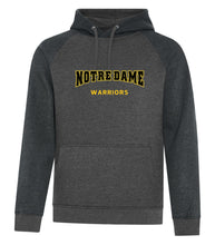 VINTAGE TWO TONE NOTRE DAME HOODED SWEATSHIRT