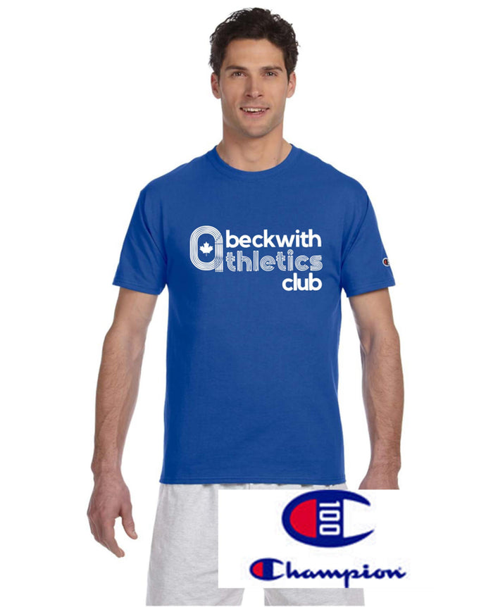Champion T-shirt Beckwith Athletics Club | Level 1 Custom Gear