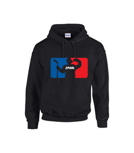Black CPSHL Hoodie with LOGO