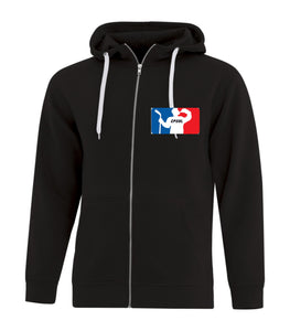 CPSHL Full Zip Hooded Sweatshirt in black