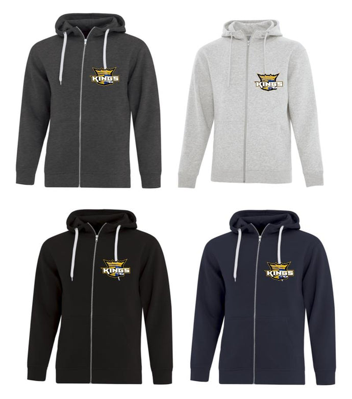 MEN's KINGS Zip Up Hoodies