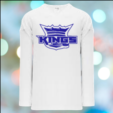 [PRIVATE] WHITE Kings Practice Jersey