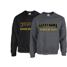 NOTRE DAME Grads Crewneck Sweatshirt BLACK or GREY