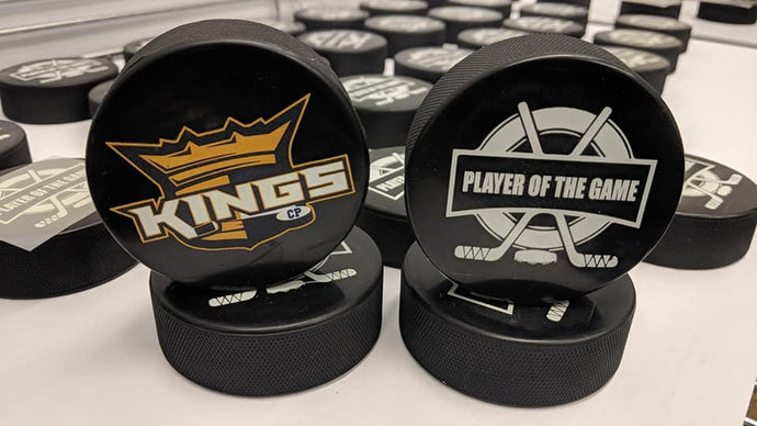 Personalized pucks Canada | Level 1 Custom Gear