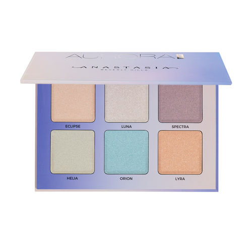 Anastasia Beverly Hills Glow Kit Aurora Highlight palette Makeup