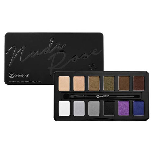 BH Cosmetics Nude Rose Night Fall Eyeshadow Palette 12 shades