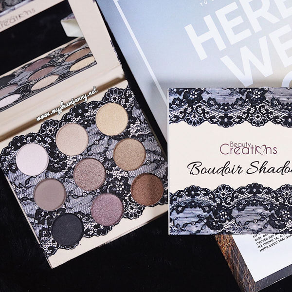 Beauty Creations Satin Boudoir Eyeshadow Palette