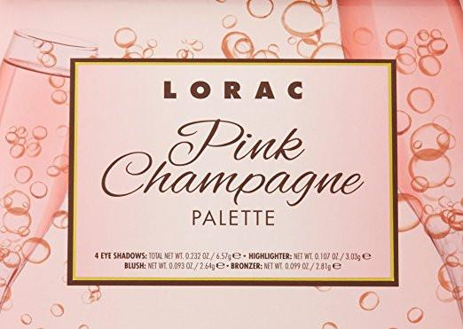 LORAC Pink Champagne Eye Shadow/Cheek Palette
