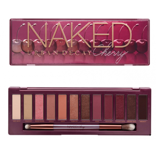 Urban Decay Naked Cherry Eyeshadow Palette Review And