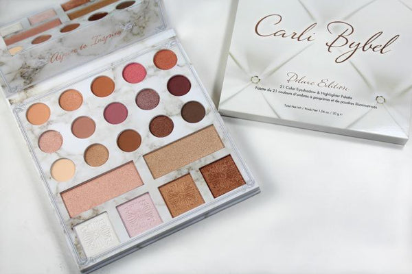 BH Cosmetics Carli Bybel Deluxe Edition Eyeshadow and Highlighter Palette