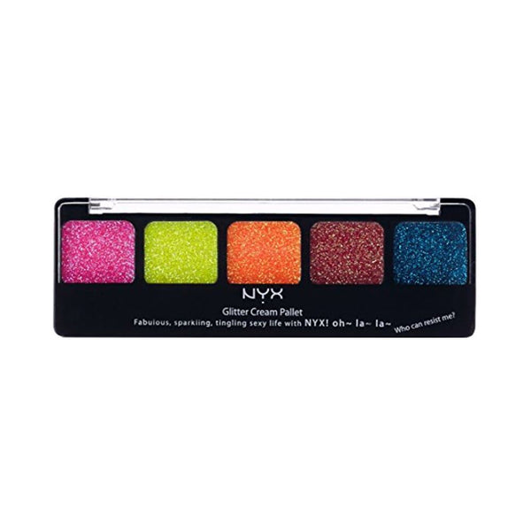 NYX Glitter Cream Palette Face & Body - Eden 02