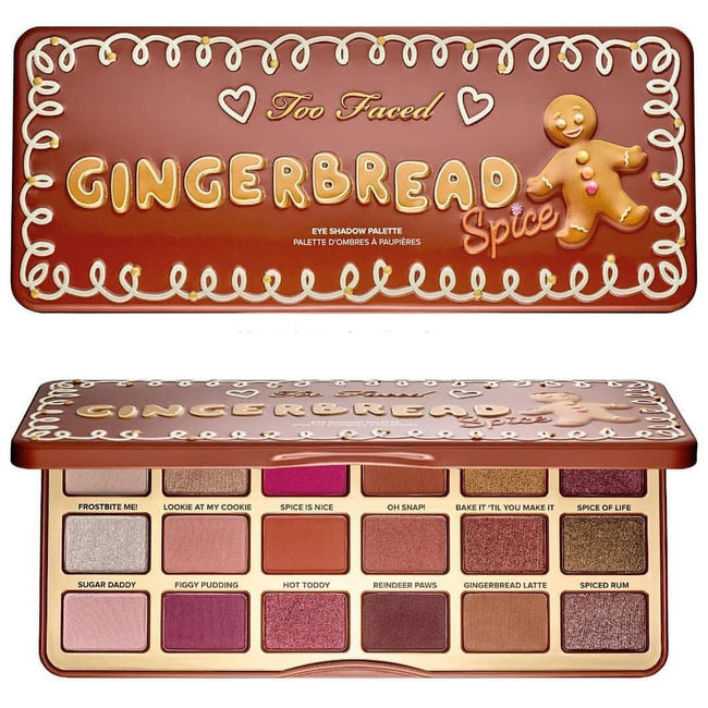 Too Faced Gingerbread Spice Eyeshadow Palette