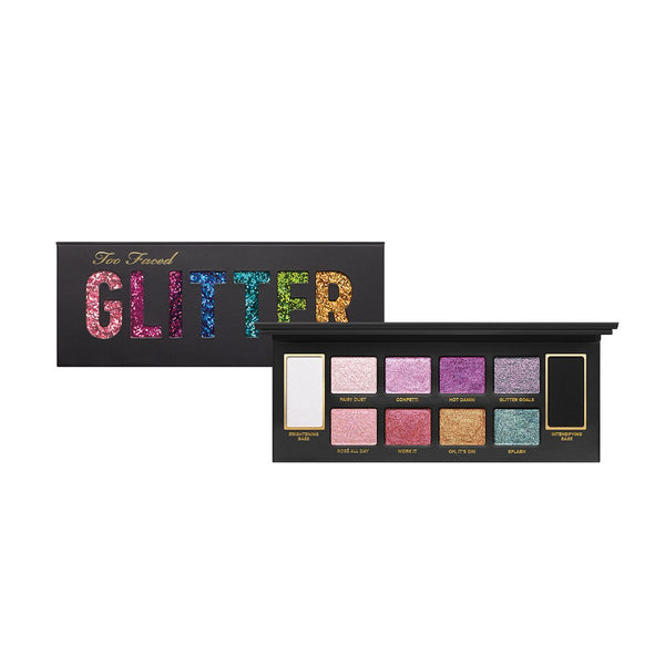 Too Faced Glitter Bomb Prismatic Glitter Eyeshadow Palette SALE