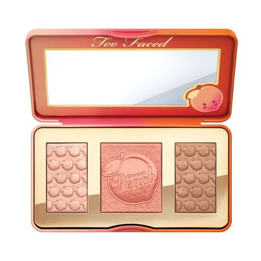 Too Faced Sweet Peach Glow Highlighter Palette SALE