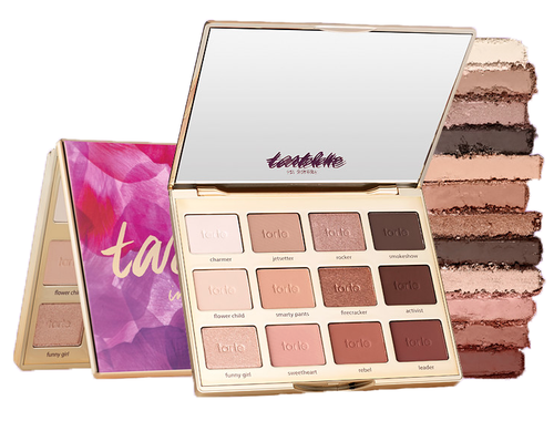 Tarte tartelette In Bloom eyeshadow palette 12 shades