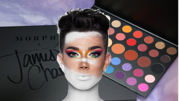 Morphe Brushes x James Charles Artistry Eyeshadow Palette