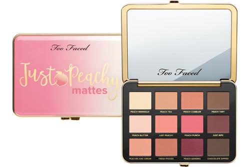 Too Faced Just Peachy Matte eyeshadow palette