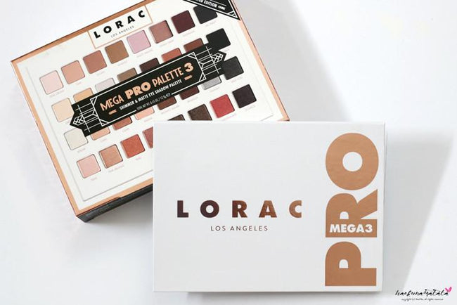 Lorac Los Angeles Mega Pro 3 Eyeshadow Palette