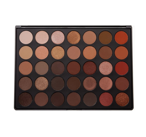 Morphe Brushes Eyeshadow Palette 35O Natural Glow