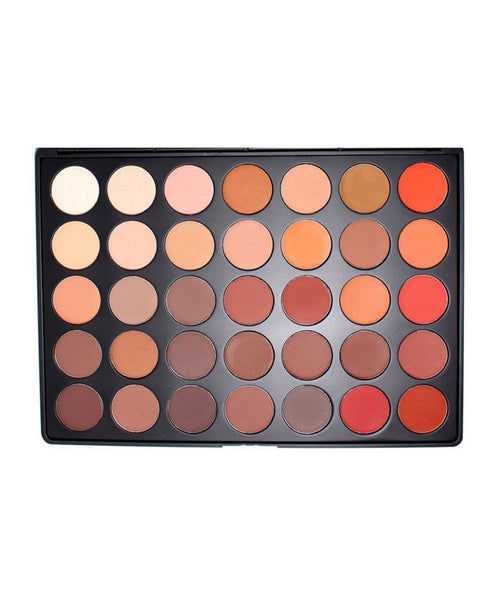 Morphe Brushes Eyeshadow Palette 35OM Color Matte Nature Glow